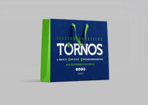 Imagen Corporativa Zaragoza. Diseño gráfico. Dípticos. Trípticos. Catálogos. Papelería. Tarjetas. Packaging. Logotipo Electrodomésticos Tornos. Zaragoza.
