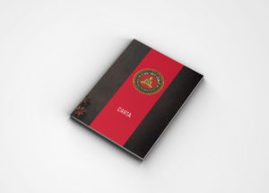 Imagen Corporativa Zaragoza. Diseño gráfico. Dípticos. Trípticos. Catálogos. Papelería. Tarjetas. Cartas Restaurante. Logotipo Café del Tíbet. Zaragoza.