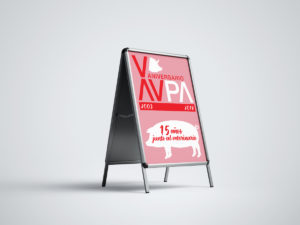 Imagen Corporativa Zaragoza. Diseño gráfico. Dípticos. Trípticos. Catálogos. Papelería. Tarjetas. Packaging. Logotipo AVPA. Zaragoza.
