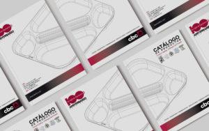 Imagen Corporativa Zaragoza. Diseño gráfico. Dípticos. Trípticos. Catálogos. Papelería. Tarjetas. Packaging. Roll Ups. Logotipo 100 Aniversario Bellvis. Zaragoza.