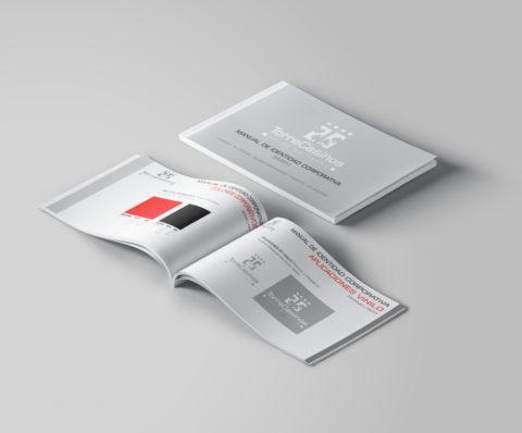 Imagen Corporativa Zaragoza. Diseño gráfico. Dípticos. Trípticos. Catálogos. Papelería. Tarjetas. Packaging. Logotipo Torrecasinos. Zaragoza.