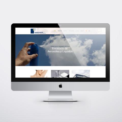 Diseño páginas web en Zaragoza. Intermedio 2.0. Diseño página web ESES. Posicionamiento web en buscadores. Google.