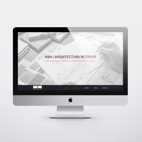 Diseño páginas web en Zaragoza. Intermedio 2.0. Diseño página web Nuño&Nuño. Posicionamiento web en buscadores. Google.