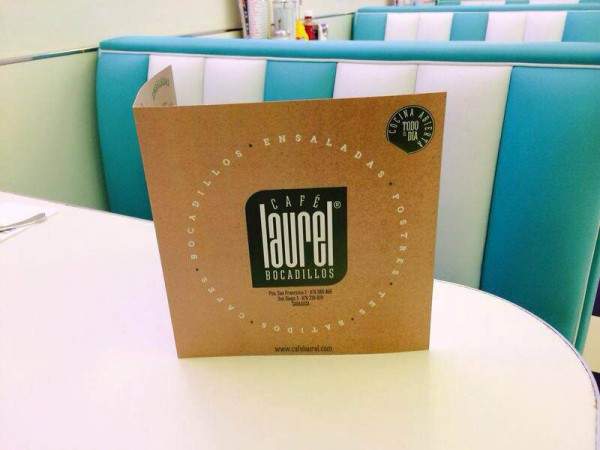Nueva Imagen Corporativa Café Laurel. Carta.