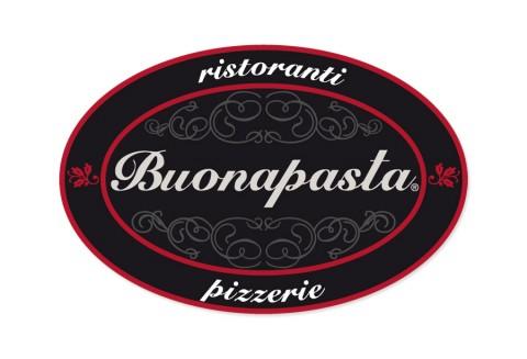Diseño gráfico Zaragoza. Intermedio 2.0. Logotipo Restaurante Buonapasta. Diseño web Zaragoza.