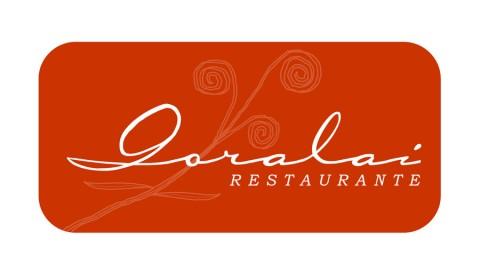 Diseño gráfico Zaragoza. Intermedio 2.0. Logotipo Restaurante Goralai. Diseño web Zaragoza.