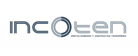 Diseño gráfico Zaragoza. Intermedio 2.0. Logotipo Incoten. Diseño web Zaragoza.